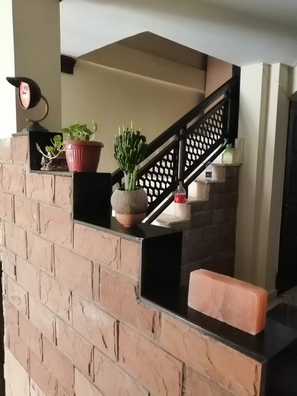 Escaleras a la entrada