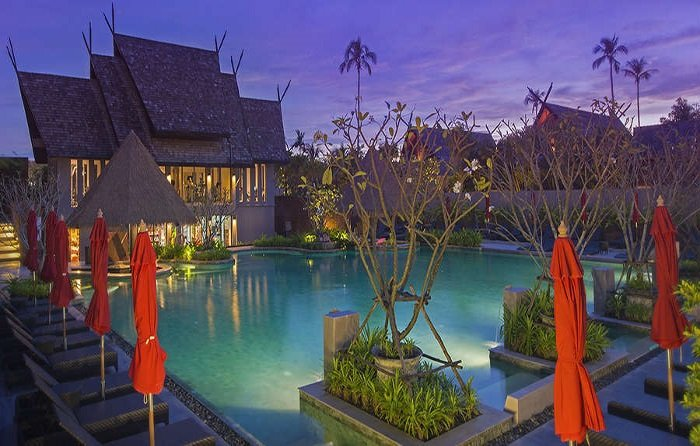 5 Star Luxury Private Pool 6 Pax - 2 Bedroom Apartment Resort, location de vacances à Tha Yu