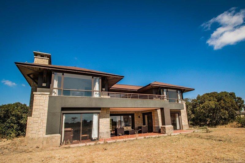Villa in the wild,Mount Kenya Wildlife Estate #36, vacation rental in Laikipia County