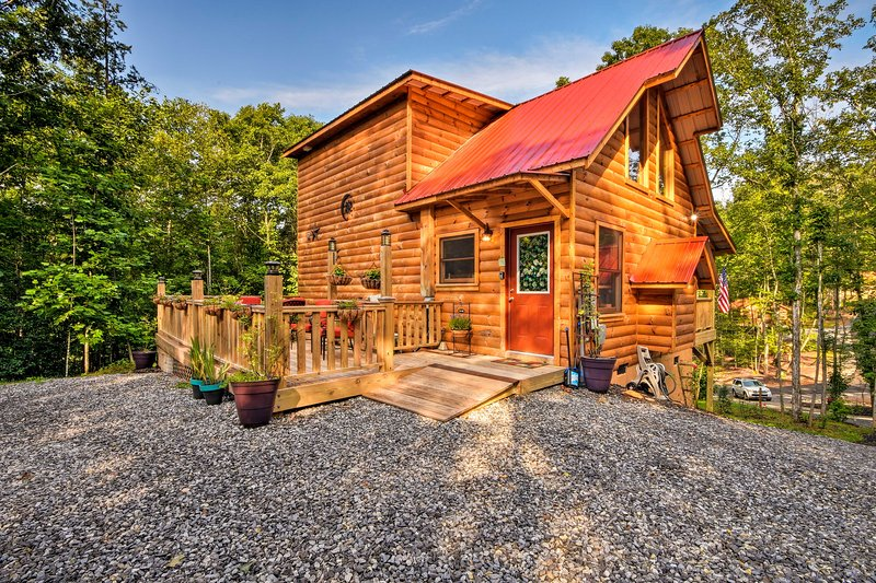 Murphy Log Cabin W Deck Covered Porch Near Dtwn Updated 2020