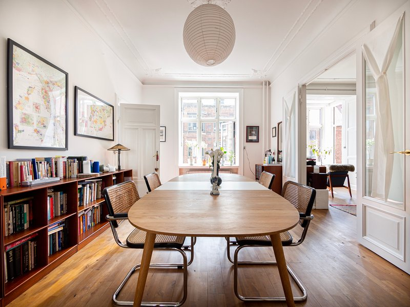 Gorgeous (120m2) apartment in heart of Nørrebro, holiday rental in Gentofte Municipality