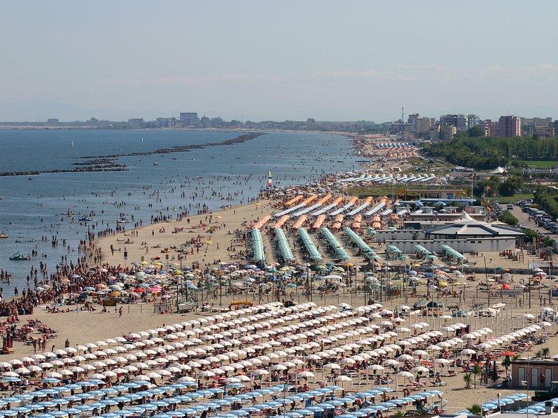 Omgivningar: Lido delle Nazioni-stranden