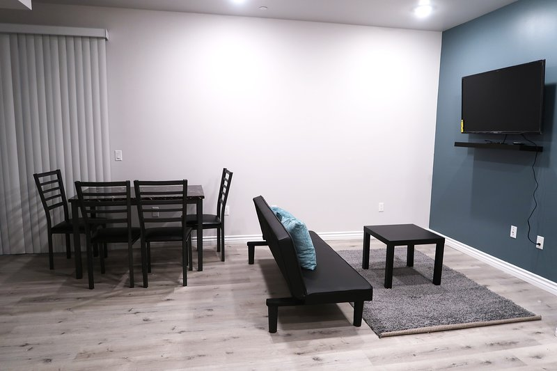 Dining Table & Living room