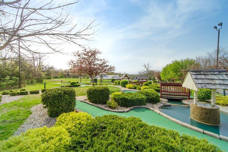 Profitez d'un accès au mini golf sur place.