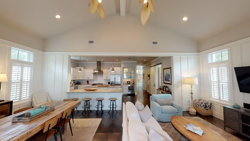 Grand open concept living space at 7 Sheepshank ideal for family and friends to have that perfect vacation!