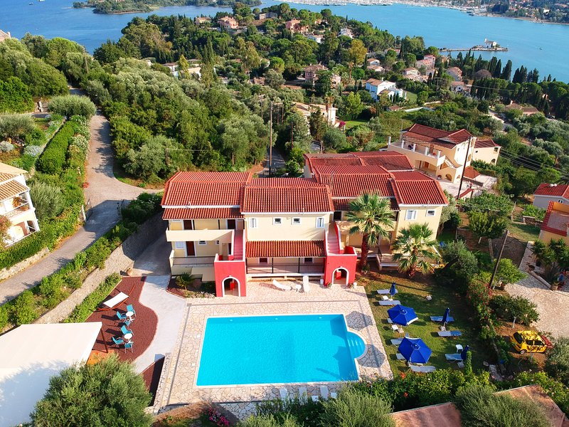 Elite Corfu Sea View Rooms & Studios, vacation rental in Pyrgi