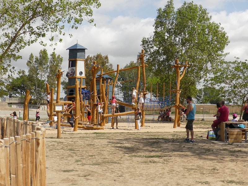 Parque infantil en La Faute sur Mer