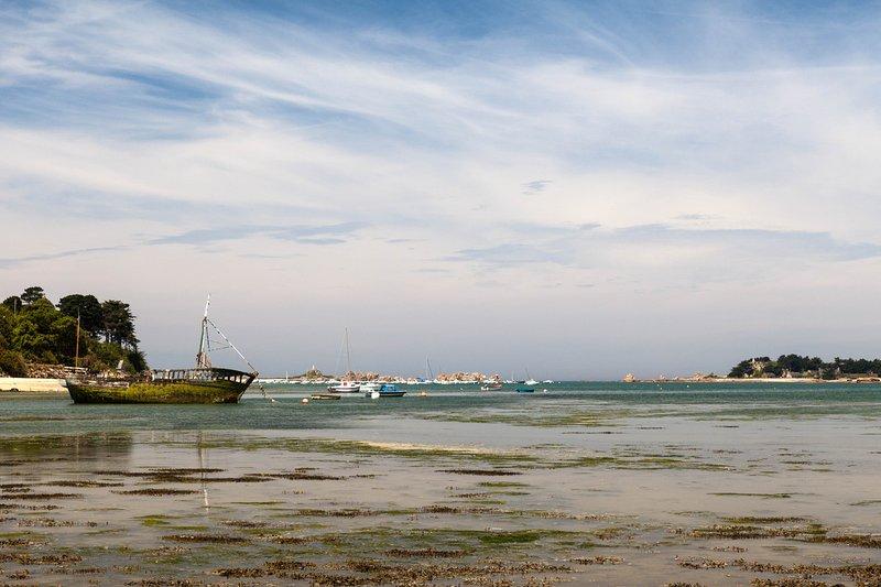 Nouveau bord de mer côte de granit rose / côte d'ajoncs, alquiler vacacional en Penvenan