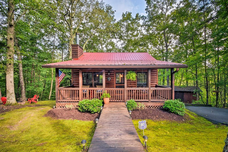 Benvenuto nella tua casa Blue Ridge lontano da casa!