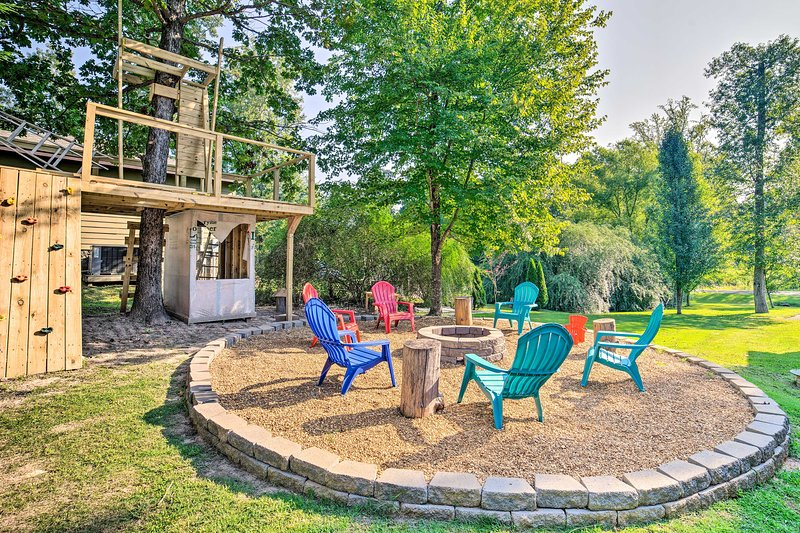 'No Wake Zone' Pickwick Home w/ Patio in Counce!, location de vacances à Counce