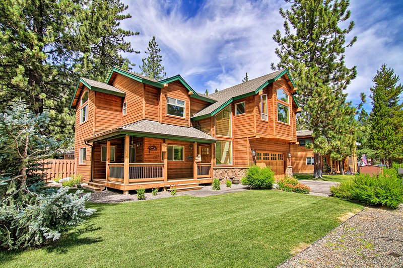 Make the most of your Lake Tahoe getaway at this stunning 4-BR, 2.5-BA cabin!
