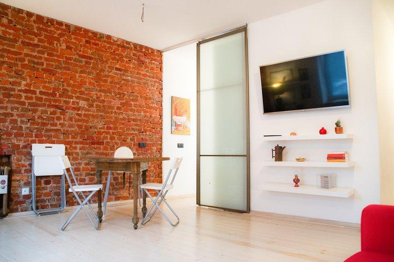 Spacious apartment in legendary building, casa vacanza a Regione di Minsk