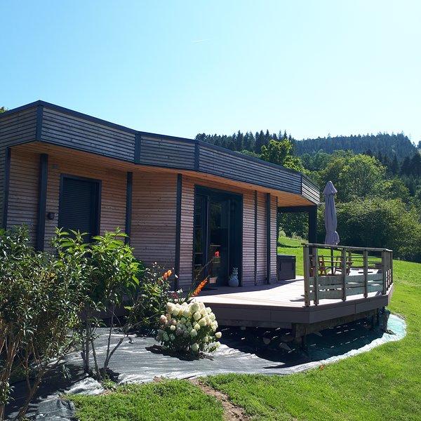 Nature Cottage Vosges Gite Insolite Avec Spa Privatif Proche
