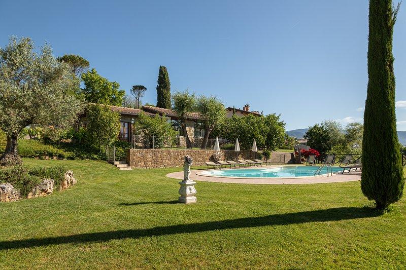 Villa Podere Cerretino, holiday rental in Quota