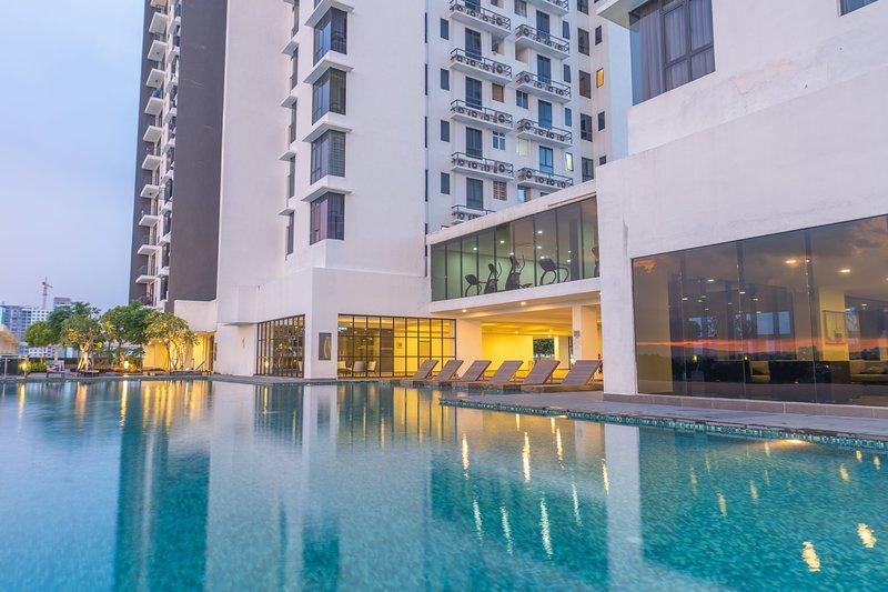 OYO Home 1106 Premium 2br 1tebrau, location de vacances à Batu Pahat District