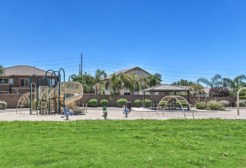 Bring your kids out to play in the 'Santa Rita Ranch' neighborhood park nearby.