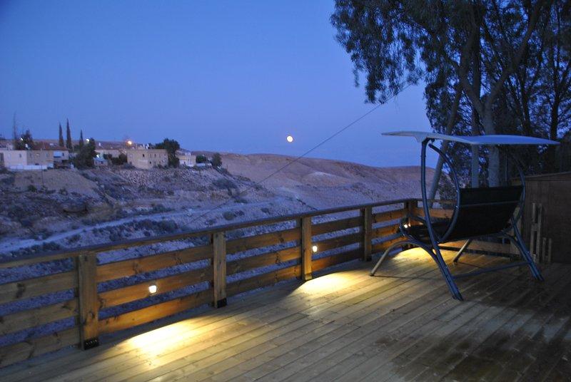Profitez de l'incroyable brise du désert dans la soirée