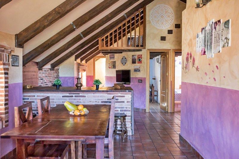 Casa Madera 10 personas, casa vacanza a Robledo de Chavela