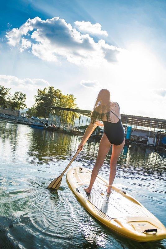 FREE paddleboards!