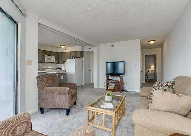 Living Room w/Open Floor Plan