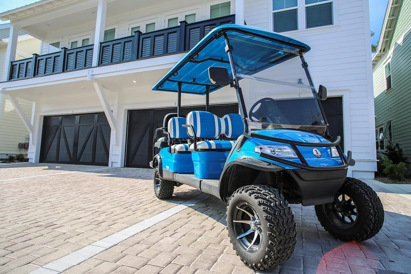 6 Seater Golf Cart Included with Stay