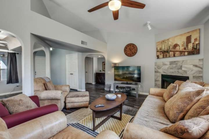 Sit, relax and enjoy all this home has to offer during your stay!