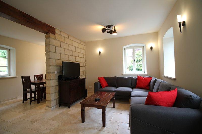 Felsenkeller Bielatal 'Johanniswacht', vacation rental in Prackovice nad Labem