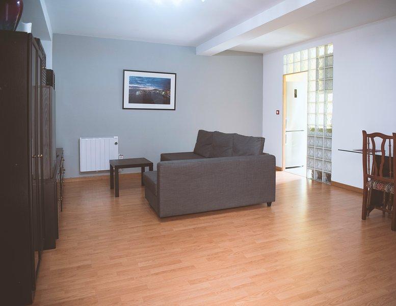 Salon avec canapé-lit 140 * 190