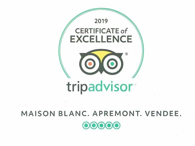 Certificado de Excelência TripAdvisor 2019