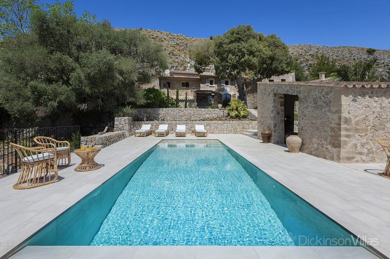 Sant Vicent de sa Cala Villa Sleeps 6 with Pool Air Con and WiFi - 5779817, location de vacances à Cala Sant Vicenc
