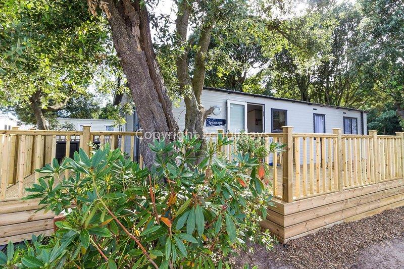 Luxury caravan just a short walk away from a beautiful Suffolk beach ref 32061AS, alquiler vacacional en Lowestoft