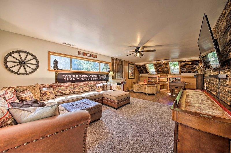 Goditi il comfort e l'ampiezza durante il tuo soggiorno in questa casa!
