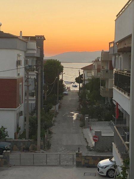 Sea view, spacious apartment., holiday rental in Kiyikislacik