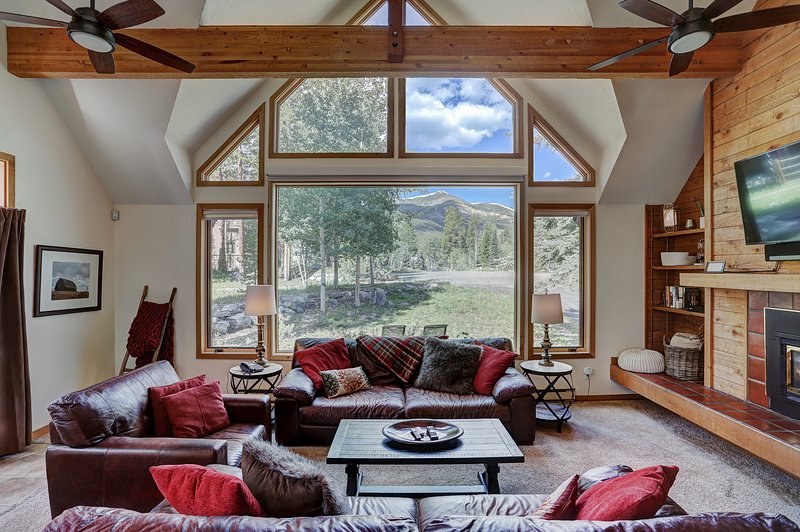 Ski Out Home! Epic Views! Private HotTub, Pets! Free Winter Town&Lift Shuttle, holiday rental in Breckenridge