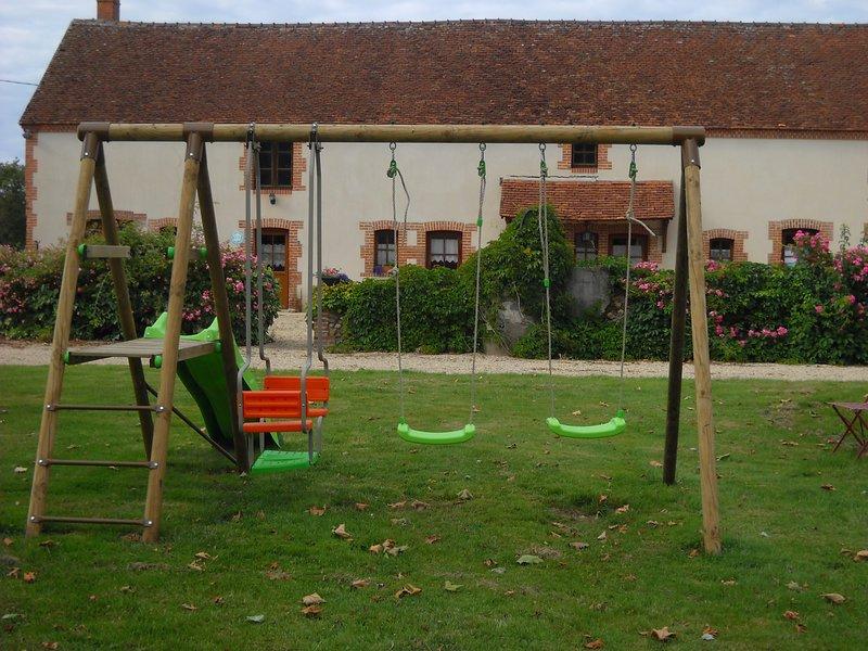 GITE LA BERGERIE, location de vacances à Neuvy-sur-Barangeon