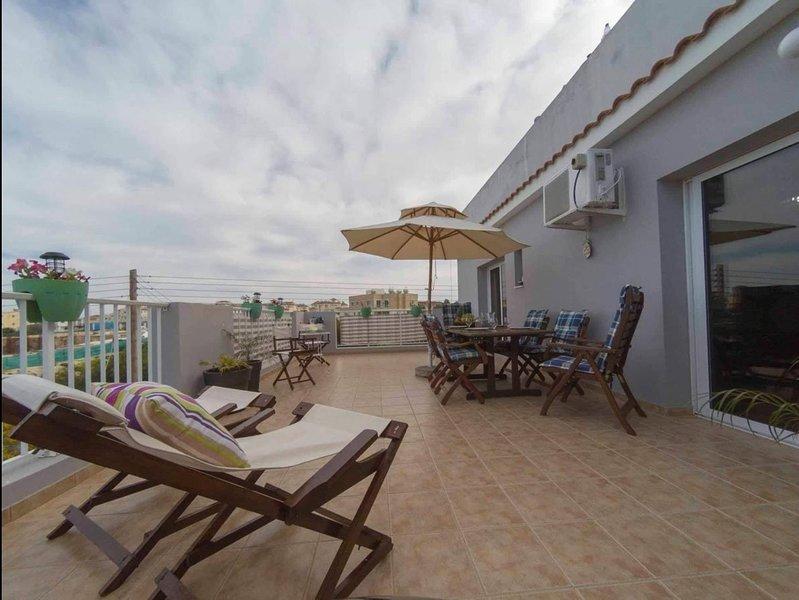 Acropolis Penthouse Protaras, holiday rental in Dherinia