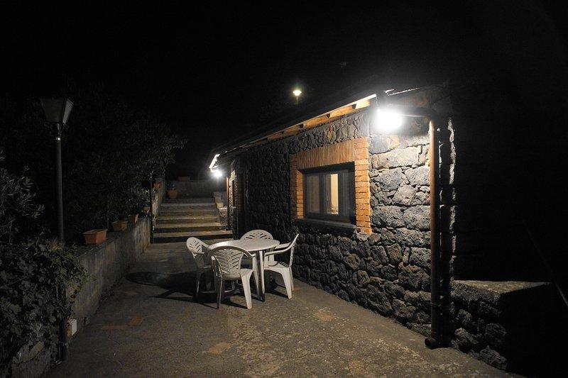Exterior com terraço para uso exclusivo