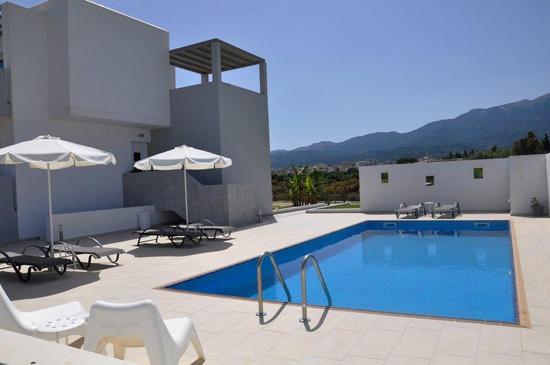 XENOS VILLA 3 , WITH SEA VIEW, PRIVATE POOL,NEAR THE SEA, holiday rental in Zipari