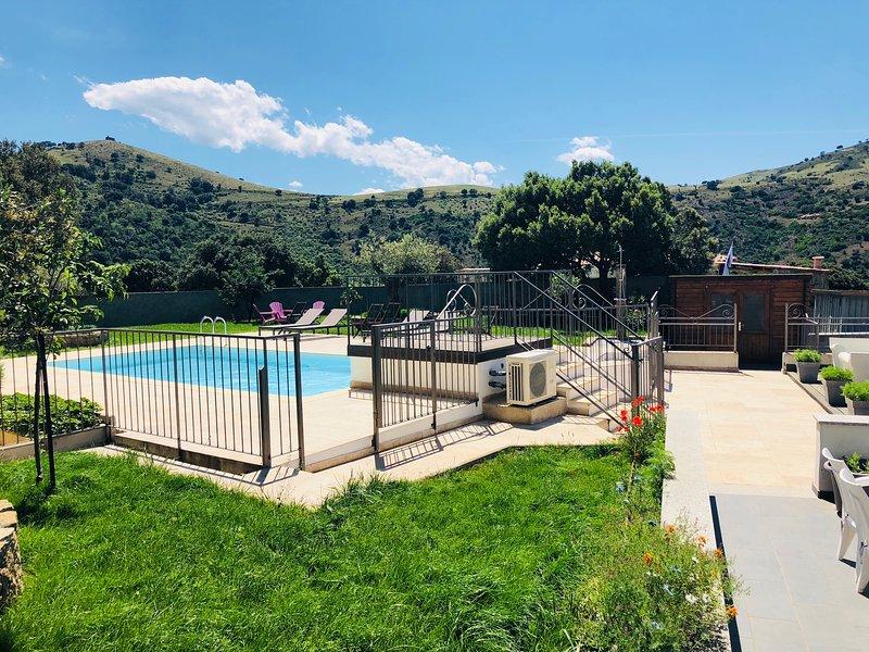Villa CASANOVA **** Avec Piscine Chauffée / Plage /Rivière, holiday rental in Castello-di-Rostino