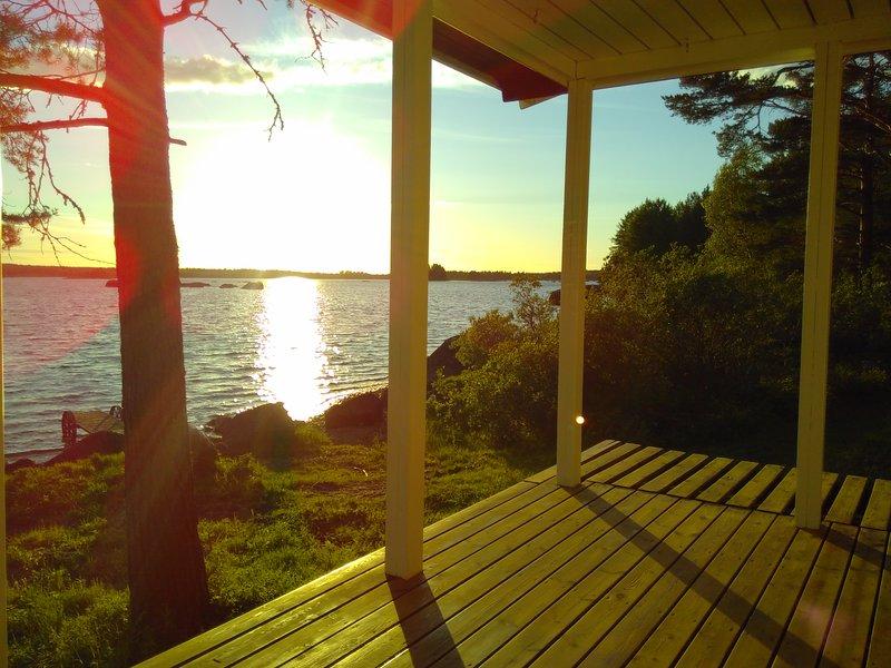 Romantisches Strandhäuschen für 2 Personen mit SAUNA und KANU – semesterbostad i Jämtland and Härjedalen