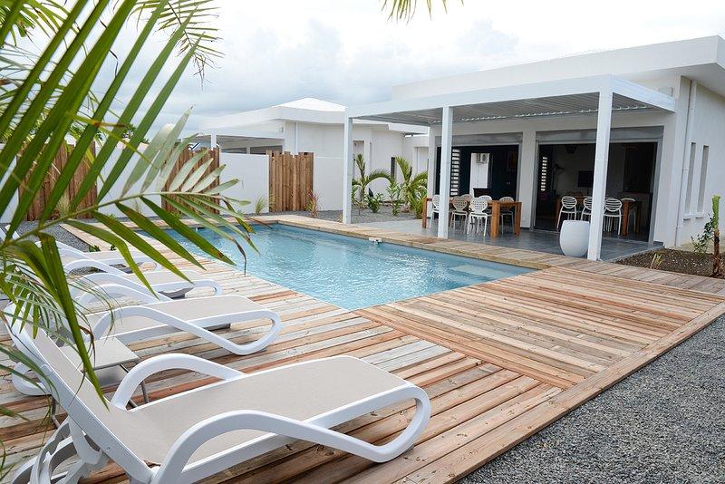 Villas de prestige neuves avec piscines privées proche des plages et du golf, vacation rental in Saint Francois