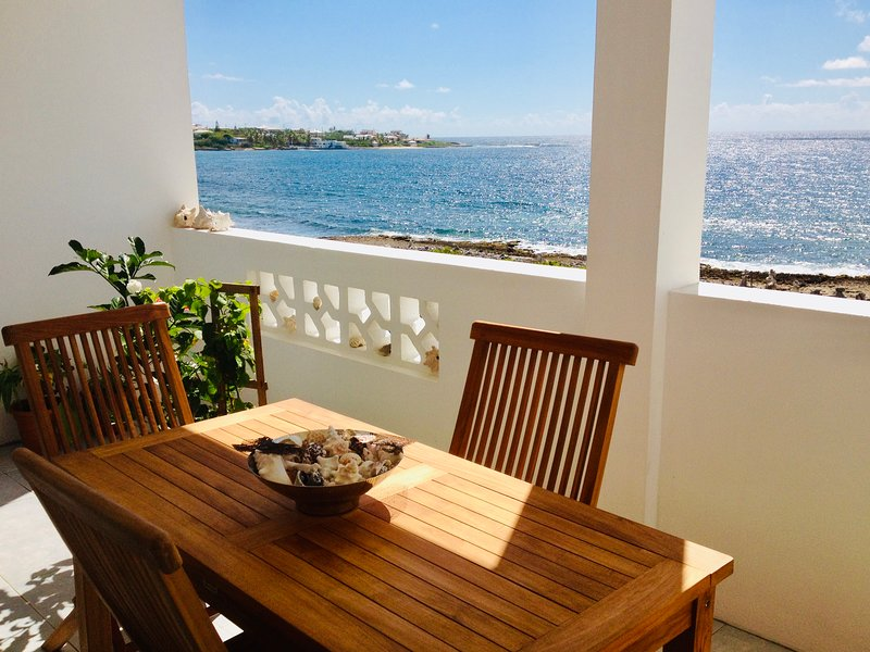 Stylish Place in Front of the Caribbean Sea - 3 Guests - Colonia furniture, casa vacanza a East End Village