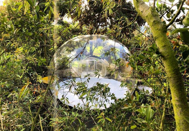 Zen-tir Glamping Experiencial,bajo las estrellas en el dosel de los arboles, holiday rental in Guasca