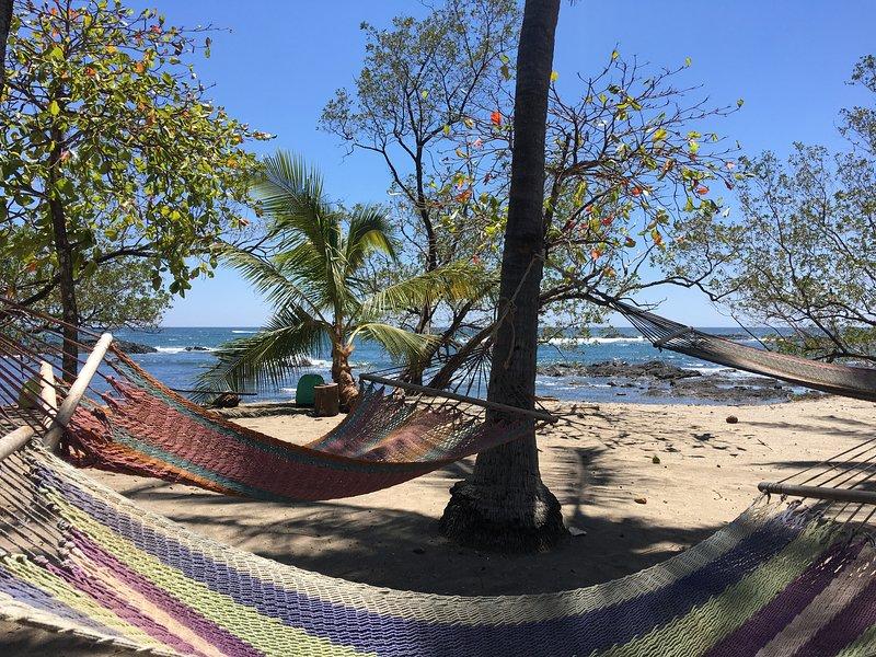 Your community hammock area:)