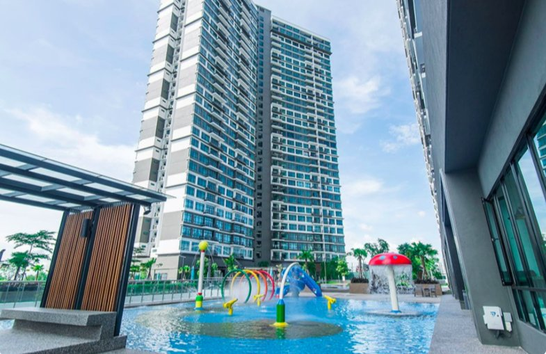 【NEW!!】Molek Regency 1-4pax [Cozy/Jaccuzi/Bathtub], holiday rental in Pasir Gudang