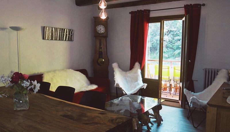 Les béraudes, Appartement avec balcon 6 pers. au pied des pistes, location de vacances à Valloire