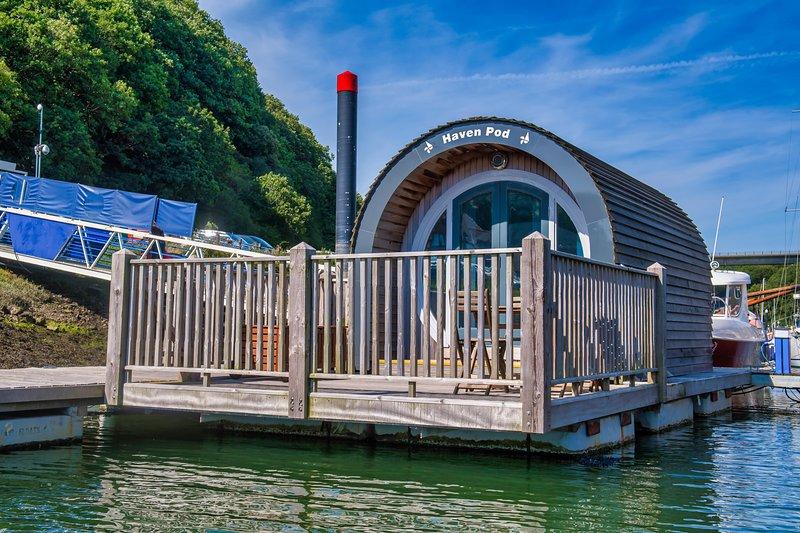 The Haven Pod, casa vacanza a Houghton