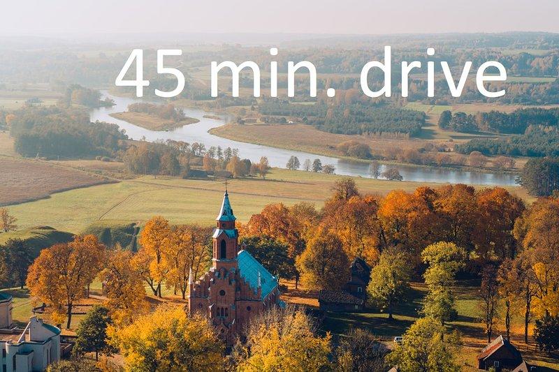 Sito archeologico di Kernavė (45 minuti in auto, 40 km)