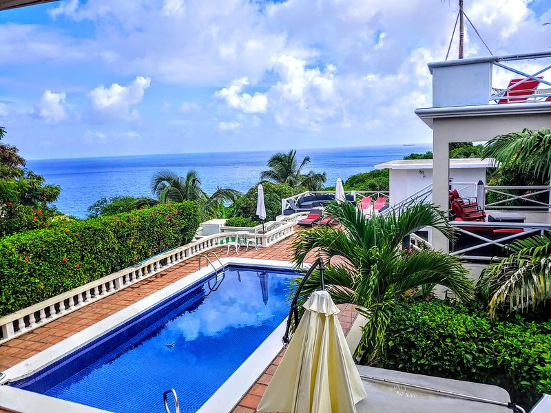 Chez Mango Luxury Ocean View Villa, holiday rental in Montserrat
