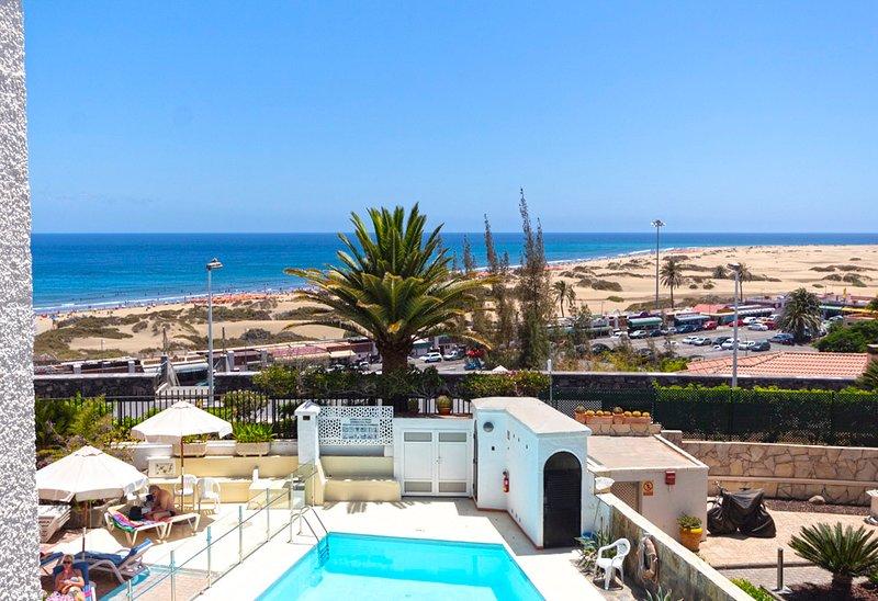 """""""See Sea Suite""""· Precioso apartamento con vistas a las Dunas de Maspalomas en 1º, vacation rental in Maspalomas"""